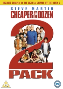 Cheaper By the Dozen/Cheaper By the Dozen 2, DVD  DVD