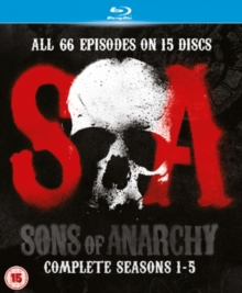 Sons of Anarchy: Complete Seasons 1-5, Blu-ray  BluRay