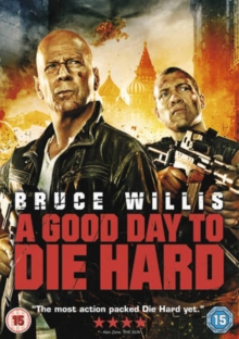 A   Good Day to Die Hard, DVD DVD