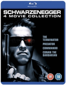 Schwarzenegger 4 Film Collection, Blu-ray  BluRay