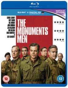 The Monuments Men, Blu-ray BluRay
