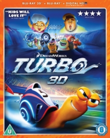 Turbo, Blu-ray  BluRay