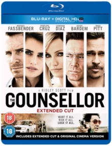 The Counsellor, Blu-ray BluRay