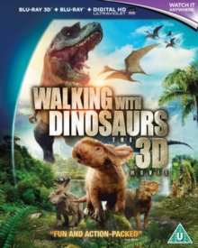 Walking With Dinosaurs, Blu-ray  BluRay