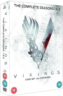 Vikings: The Complete Seasons 1 & 2, DVD  DVD