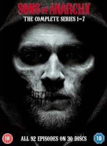 Sons of Anarchy: Complete Seasons 1-7, DVD  DVD