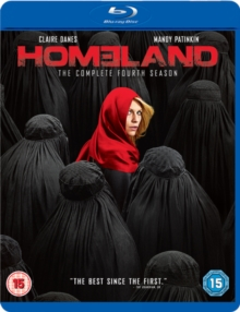 Homeland: The Complete Fourth Season, Blu-ray BluRay