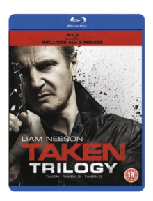 Taken/Taken 2/Taken 3, Blu-ray  BluRay