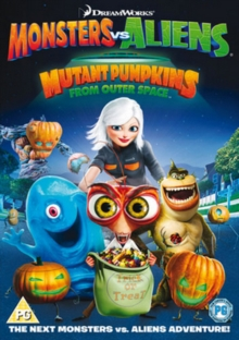 Monsters Vs Aliens: Mutant Pumpkins from Outer Space, DVD  DVD
