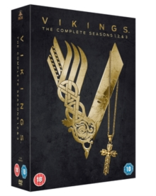 Vikings: The Complete Seasons 1, 2 & 3, DVD  DVD