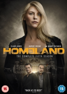 Homeland: The Complete Fifth Season, DVD DVD
