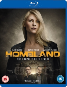 Homeland: The Complete Fifth Season, Blu-ray BluRay