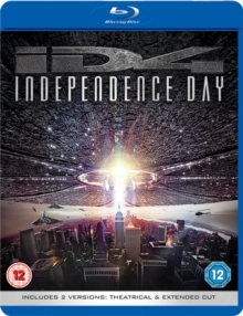 Independence Day: Theatrical and Extended Cut, Blu-ray BluRay