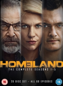 Homeland: The Complete Seasons 1-5, DVD DVD