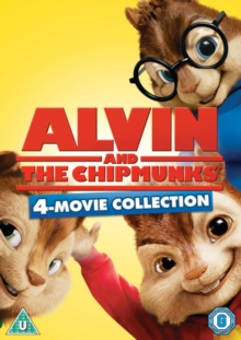 Alvin and the Chipmunks 1-4, DVD DVD