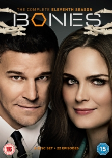 Bones: The Complete Eleventh Season, DVD DVD