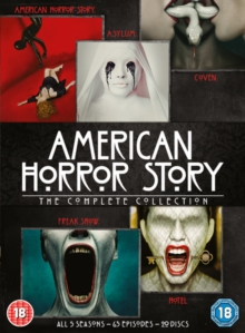 American Horror Story: The Complete Collection, DVD DVD