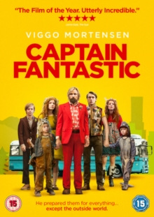 Captain Fantastic, DVD DVD