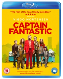 Captain Fantastic, Blu-ray BluRay
