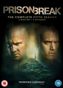 Prison Break: The Complete Fifth Season, DVD DVD