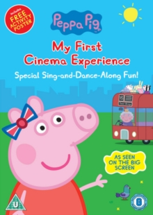 Peppa Pig: My First Cinema Experience, DVD DVD