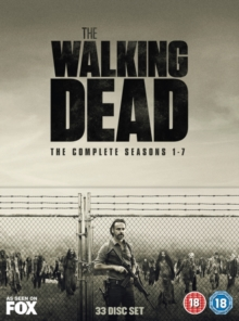 The Walking Dead: The Complete Seasons 1-7, DVD DVD