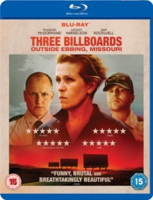 Three Billboards Outside Ebbing, Missouri, Blu-ray BluRay