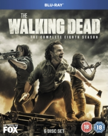 The Walking Dead: The Complete Eighth Season, Blu-ray BluRay