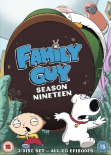 Family Guy: Season Nineteen, DVD DVD