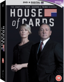 House of Cards: The Complete First, Second & Third Seasons, DVD DVD