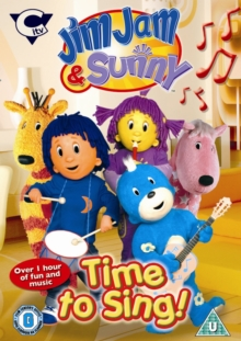 Jim Jam and Sunny: Time to Sing, DVD  DVD