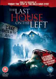The Last House On the Left: Extended Version, DVD DVD