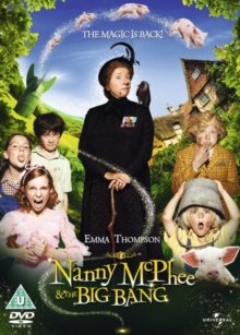 Nanny McPhee and the Big Bang, DVD  DVD