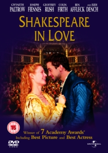 Shakespeare in Love, DVD  DVD