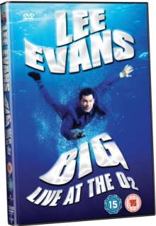 Lee Evans: Big - Live at the O2, Blu-ray  BluRay