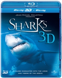 Sharks 3D, Blu-ray  BluRay