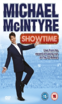 Michael McIntyre: Showtime Live, DVD  DVD