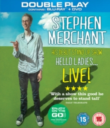Stephen Merchant: Hello Ladies - Live 2011, Blu-ray  BluRay