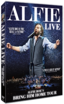 Alfie Boe: The Bring Him Home Tour, DVD  DVD