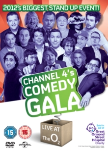 Channel 4's Comedy Gala 2012, DVD  DVD