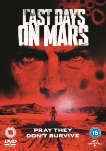 The Last Days On Mars, DVD DVD