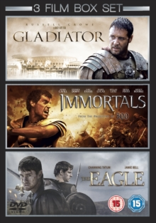 Gladiator/Immortals/The Eagle, DVD  DVD