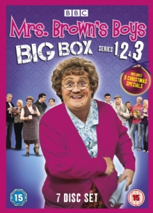 Mrs Brown's Boys: Series 1-3, DVD  DVD