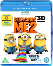 Despicable Me 2, Blu-ray  BluRay