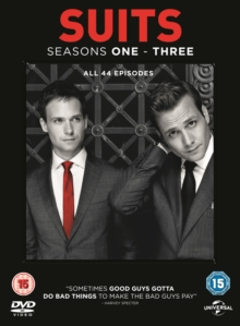 Suits: Seasons 1-3, DVD DVD