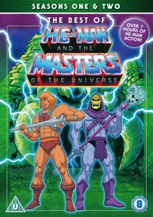 He-Man and the Masters of the Universe: Series 1 and 2, DVD  DVD