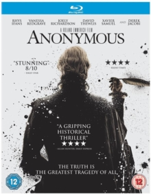 Anonymous, Blu-ray  BluRay