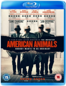 American Animals, Blu-ray BluRay