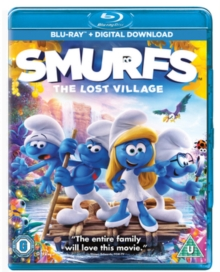 Smurfs - The Lost Village, Blu-ray BluRay