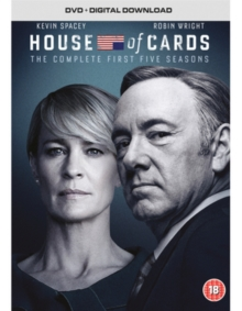House of Cards: Seasons 1-5, DVD DVD